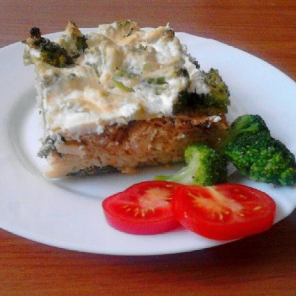 Ezen a képen: Rakott brokkoli siklitimi konyhájából