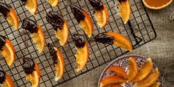 Félig csokis kandírozott narancs