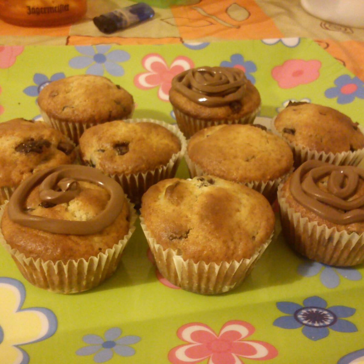 Ezen a képen: Csokis-meggyes muffin Szamee konyhájából