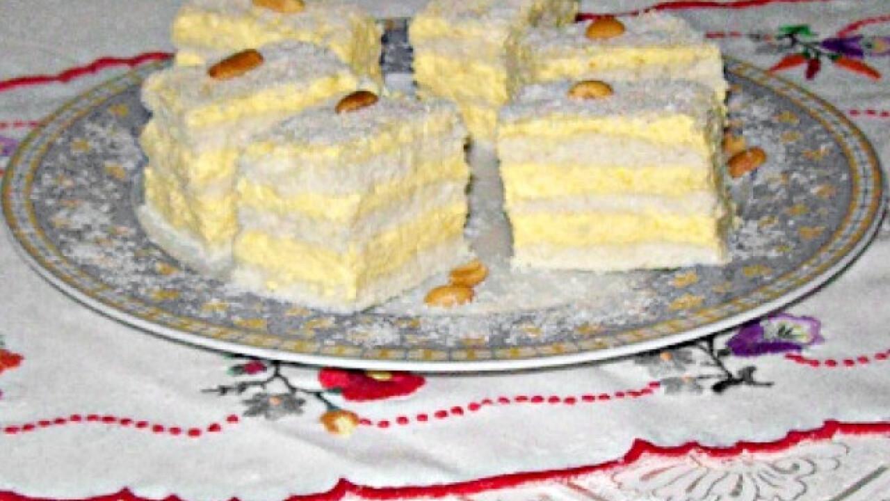 Raffaello szelet Edit konyhájából