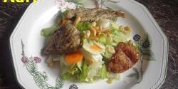 Csirkemell saláta