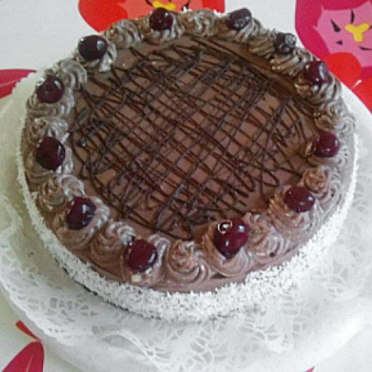 Ezen a képen: Csokoládétorta Kiltehtől