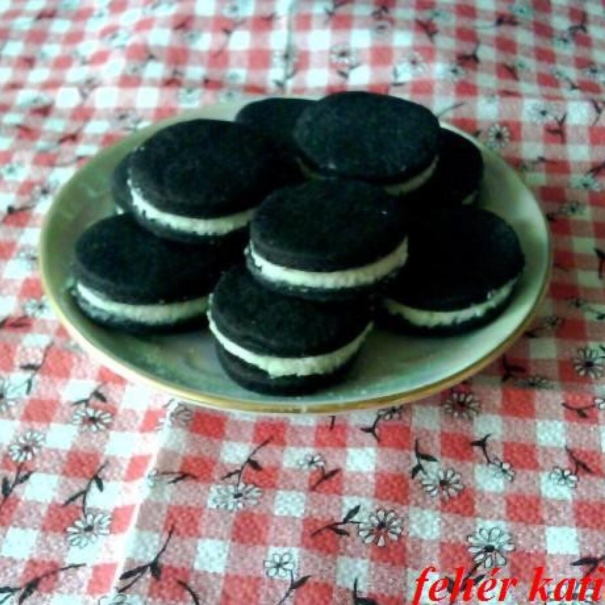 Ezen a képen: Házi Oreo keksz Katicától