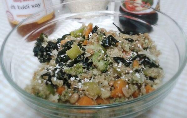 """Fermentált szójabab """"natto"""" quinoával"""