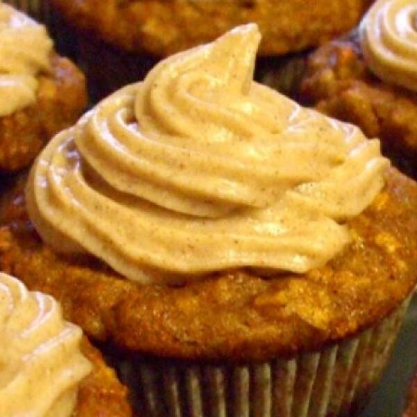 Fahéjas almás cupcake
