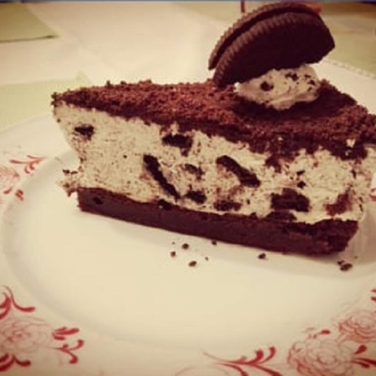 Ezen a képen: Oreo torta