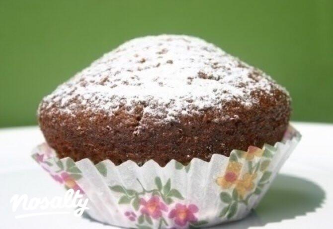 Ezen a képen: Mézes-almás muffin