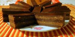 Csíkos keksz kissé diétásan
