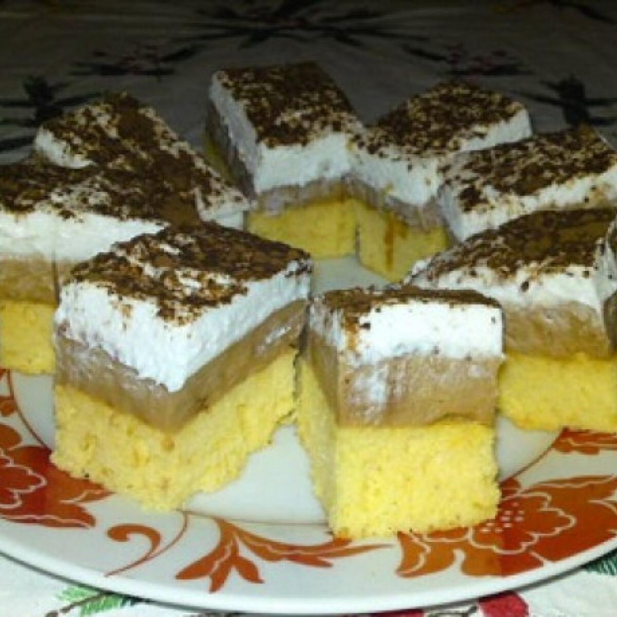 Ezen a képen: Dupla karamellás süti