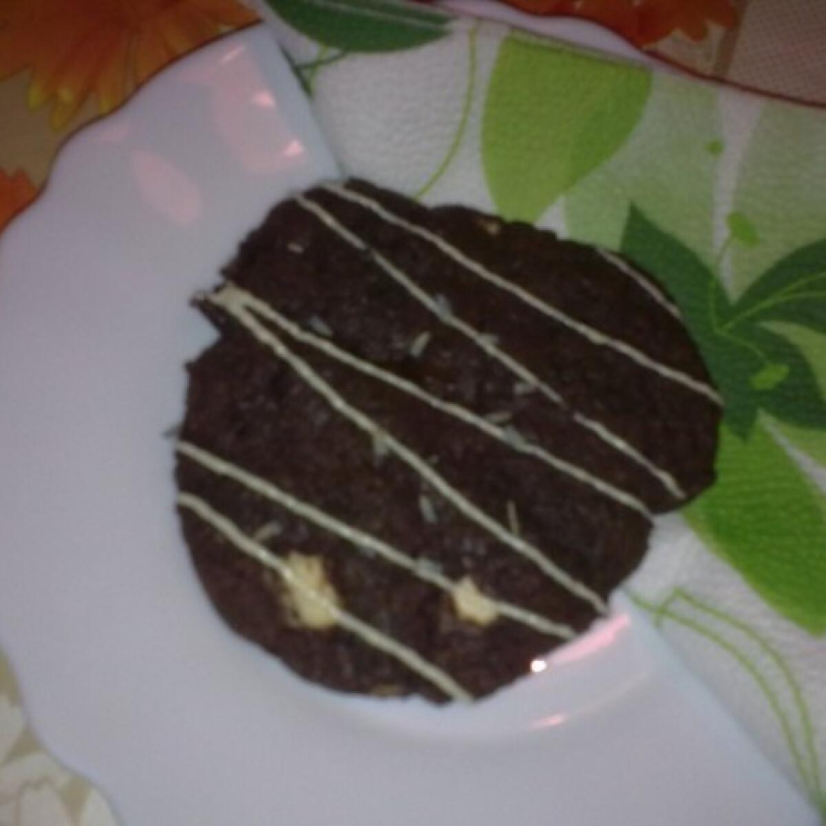 Ezen a képen: Csokoládés-levendulás cookies