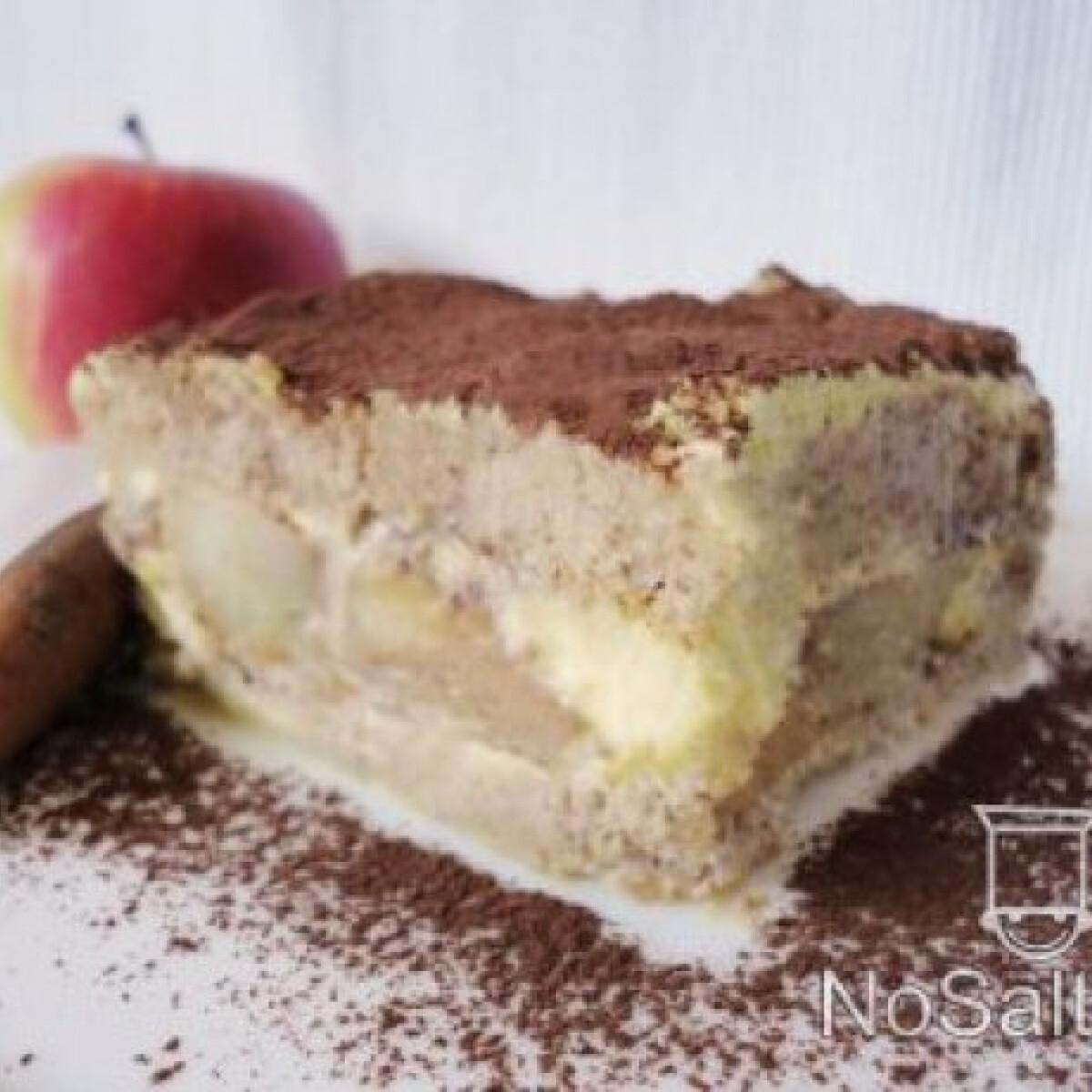 Ezen a képen: Mézeskalácsos tiramisu fahéjas almával