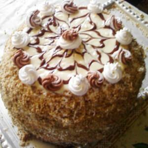 Eszterházy torta ahogy Szikra készíti