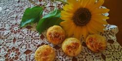 Kecskesajtos muffinok