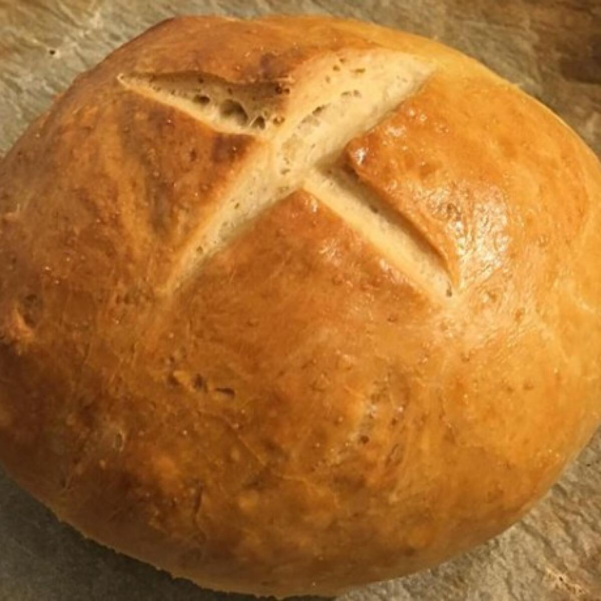 Egyszerű fehér kenyér