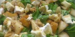 Őszi körtés saláta