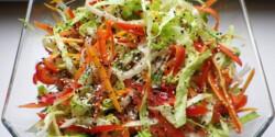 Könnyű saláta Évi néni konyhájából
