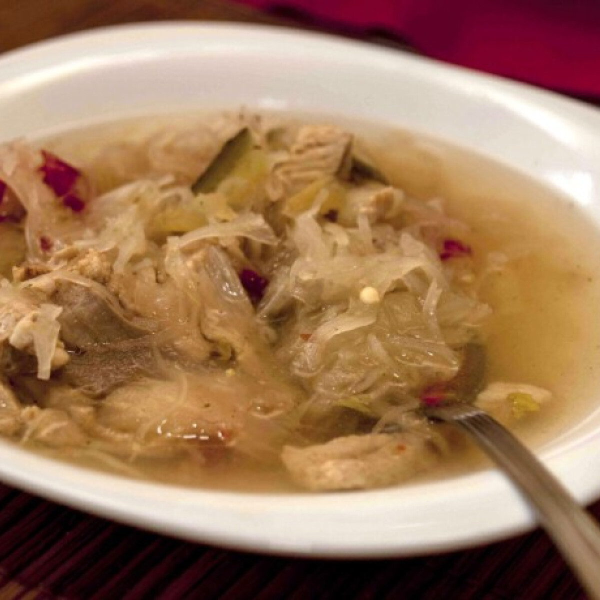 Ezen a képen: Erős savanyú leves