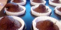 Fahéjas-kakaós muffin