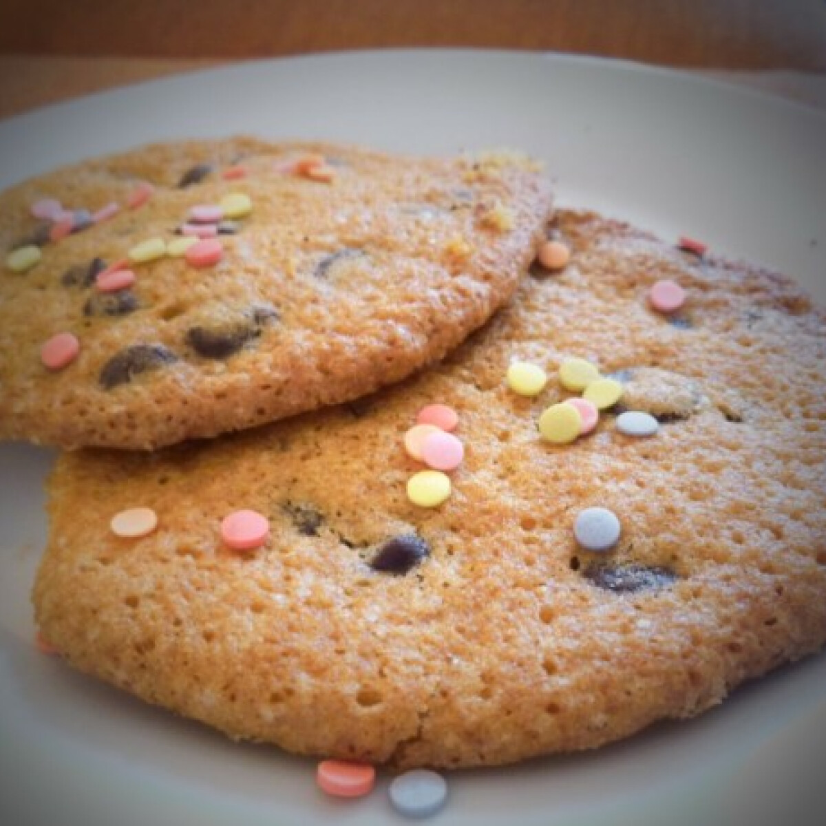 Ezen a képen: Glutén- és tejmentes cookie