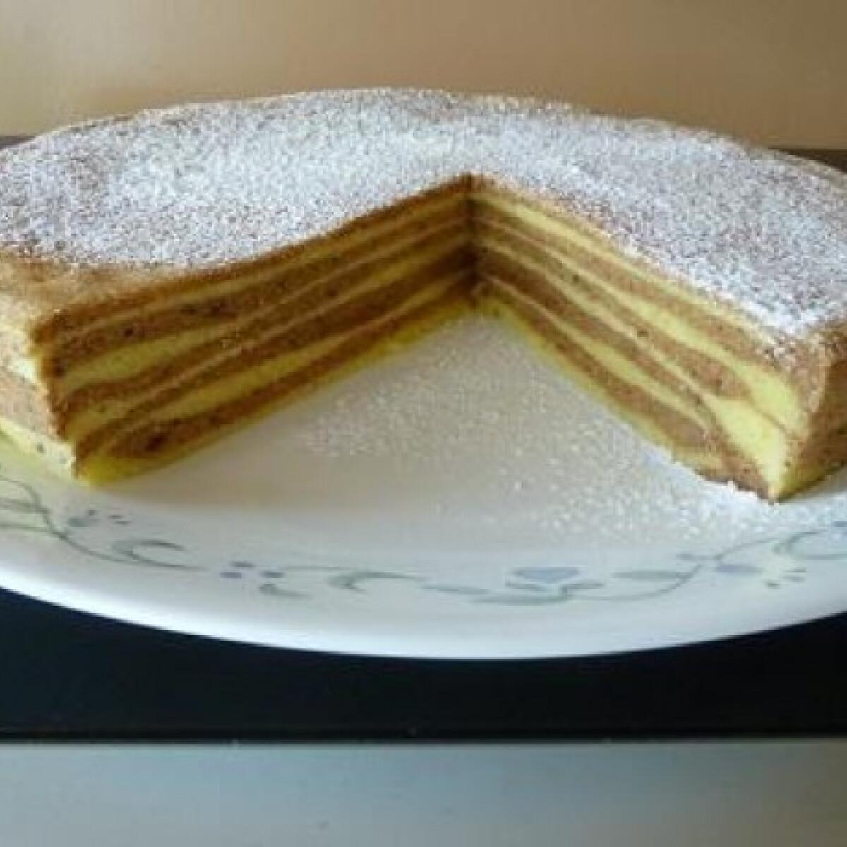 Ezen a képen: Grillezett torta