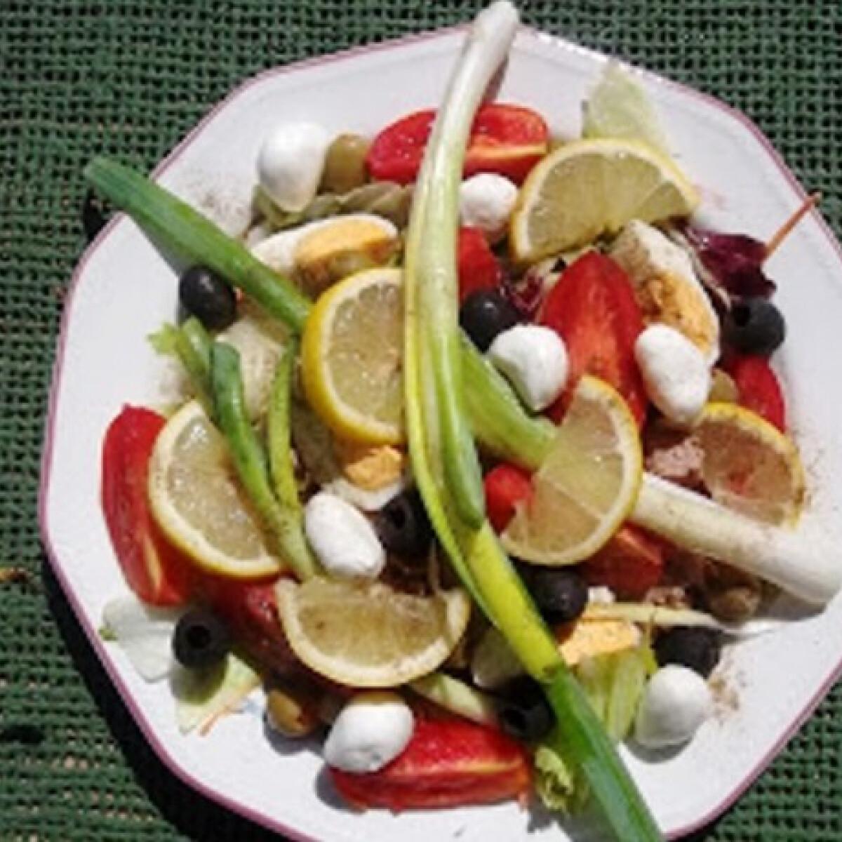 Tonhalas saláta Hobbycheftől