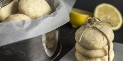 Omlós citromos keksz