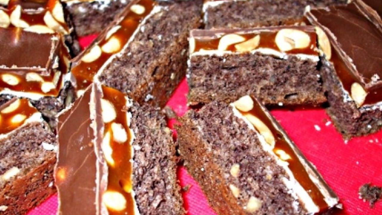 Snickers szelet StellaMelanie konyhájából