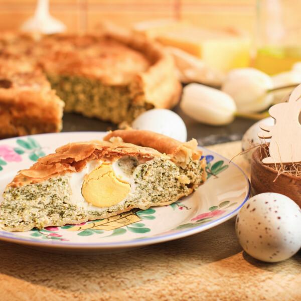 Torta Pasqualina, a keresztény, tojásos csodapite