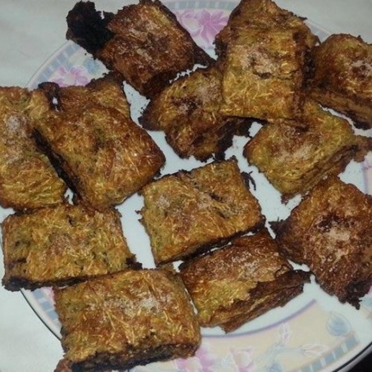 Ezen a képen: Kakaós csiga cukkinis tócsi tésztából