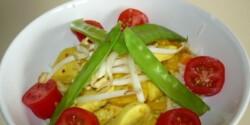 Selymes currys csirke