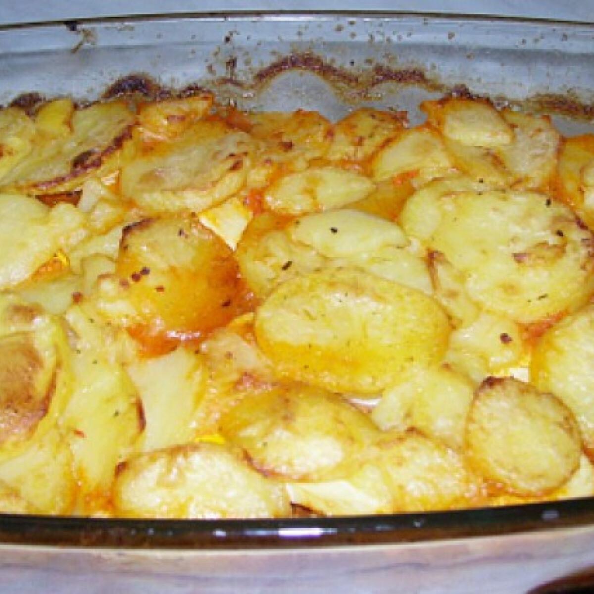 Ezen a képen: Olaszos rakott krumpli