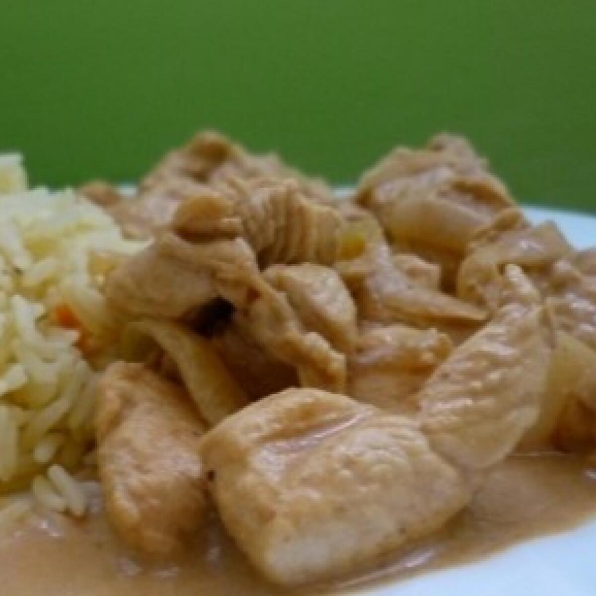 Ezen a képen: Fűszeres joghurtos csirke
