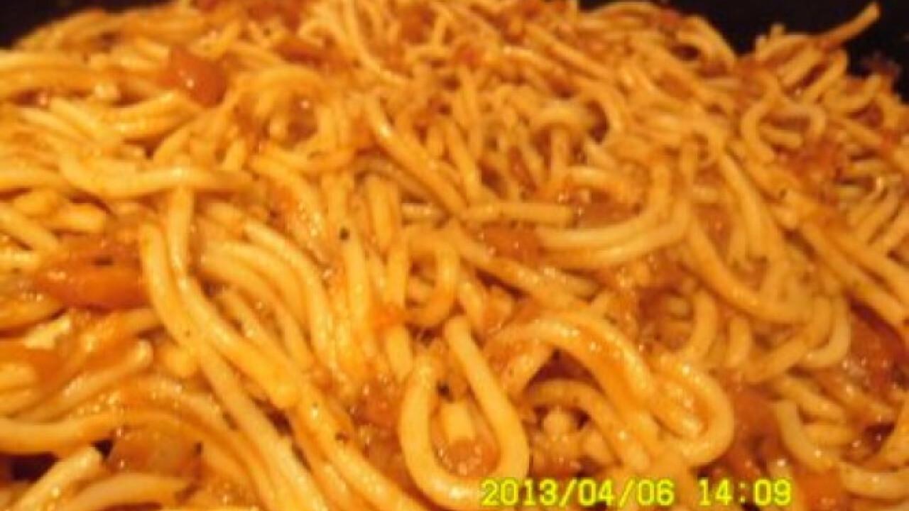 Paradicsomos-sárgarépás spagetti