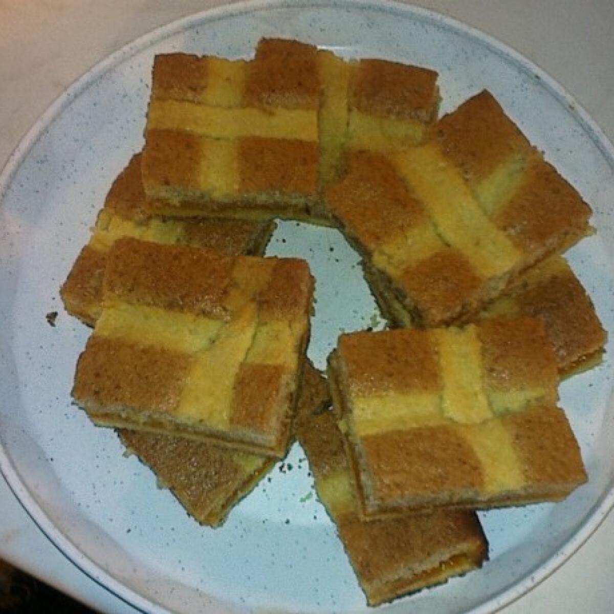 Csíkos barackos Málna konyhájából