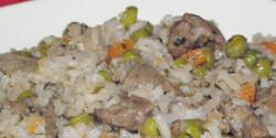 Csirkemájas rizottó Károly konyhájából
