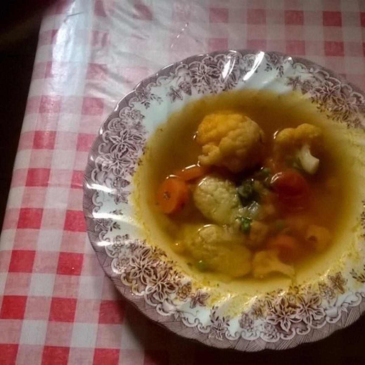 Ezen a képen: Régimódi gezemice leves