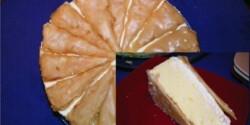 Francia krémes torta