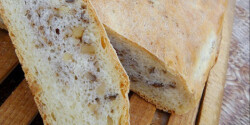 Diós kenyér Via konyhájából
