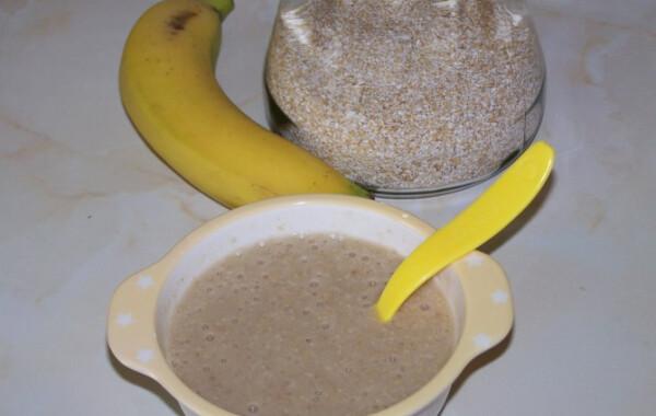 Banános kása