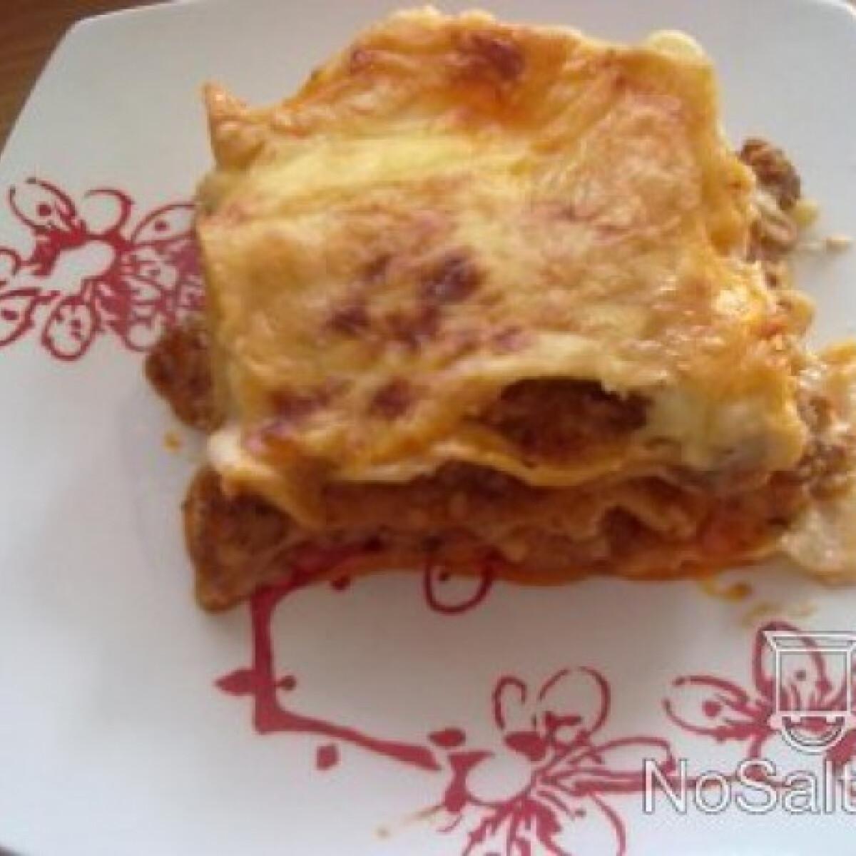 Lasagne - Makka kollégiumi verziója
