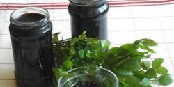 Feketeáfonya-dzsem és kocsonya