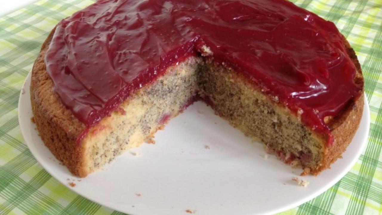Mákos kevert torta Pannitól