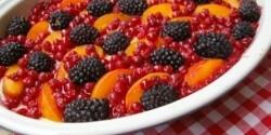 Gyümölcsös gratin
