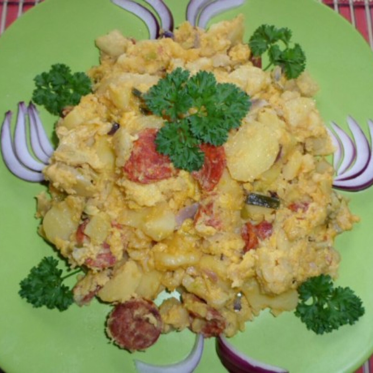 Spanyol omlett Salamon Csillától
