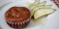 Körtés muffin mogyorókrémmel