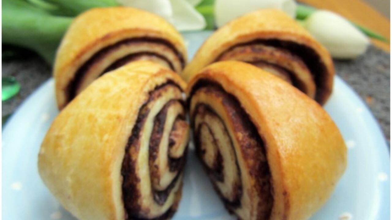 Kakaós-fahéjas csigák Esztella konyhájából