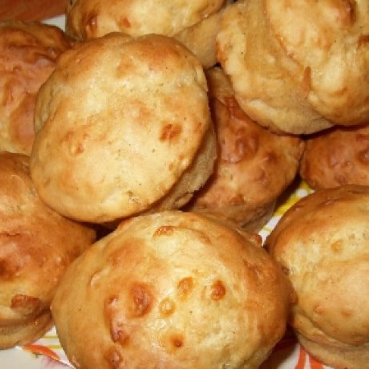 Ezen a képen: Sajtos muffin Andi konyhájából