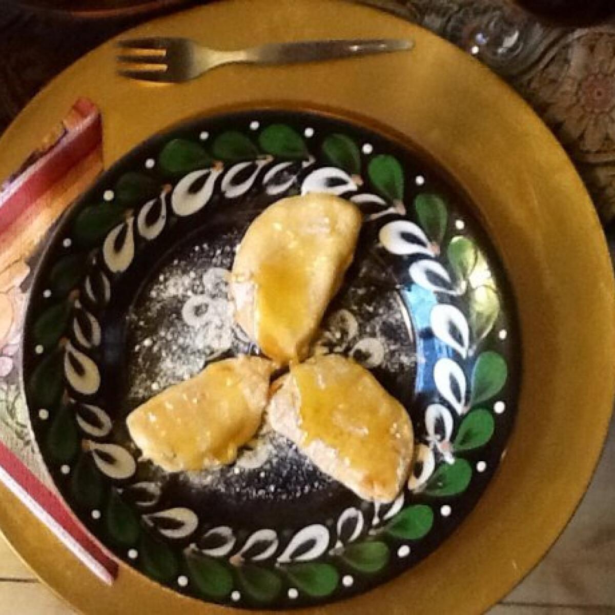 Ezen a képen: Bundában sült sütőtök