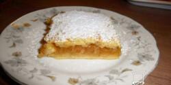 Pudingos-almás pite Izától