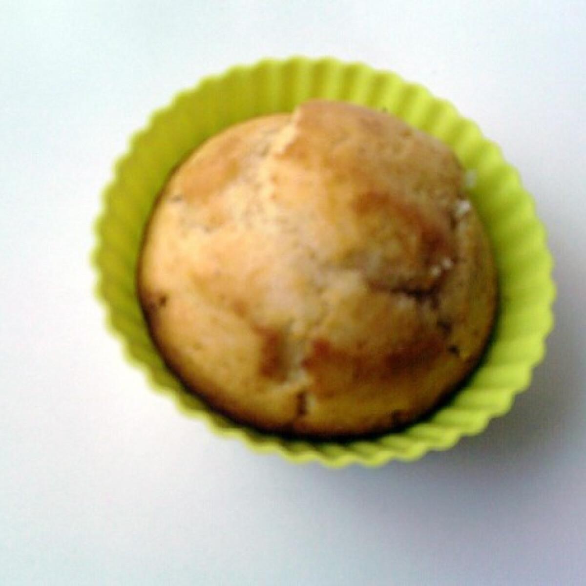 Gyömbéres-citromos muffin